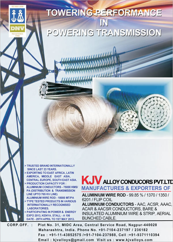 Kjv Alloy Conductors (p) Ltd