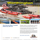 Worthington Products is the World�s most trusted name when it comes to providing quality waterway barriers for Debris Control, Dam Safety, Ice-Booms, Fish Guidance