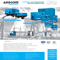 Manufacturer refrigerated-type air dryer, desiccant air dryer and compressed air in-line filter.